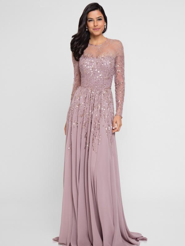 Stunningly Sequined Evening Dress